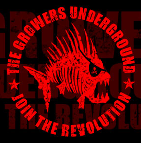 The logo of Growers Underground