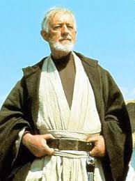 An image of Obi Uan Kenobi from the movie Star Wars