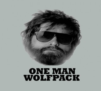 A close-up portrait of a man with beard - one man wolfpack