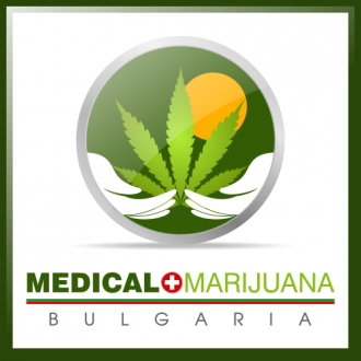 A logo of medical marijuana Bulgaria