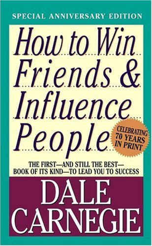 A book cover from the author Dale Carnegie