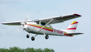 Cessna 172 for chosing the best cannabis growing locations